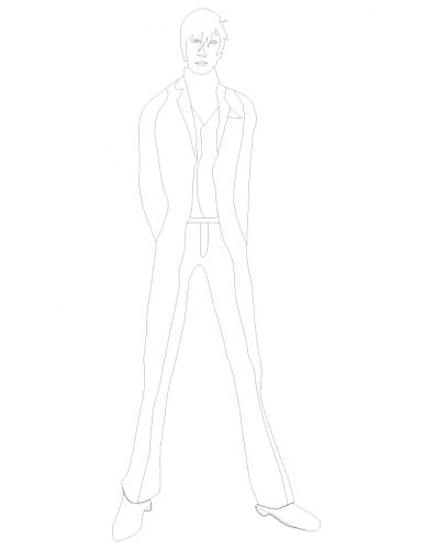 gentleman sketch